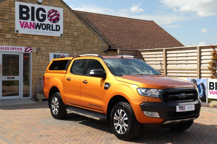 FORD RANGER WILDTRAK TDCI 200 4X4 DOUBLE CAB WITH TRUCKMAN TOP - 9538 - 2