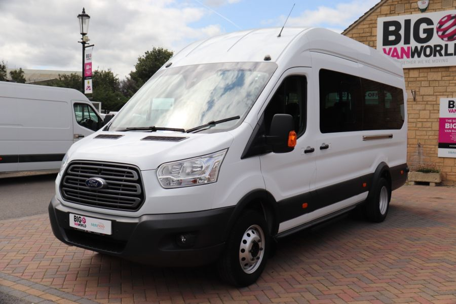 FORD TRANSIT 460 TDCI 155 L4H3 TREND 17 SEAT BUS HIGH ROOF DRW RWD - 9767 - 9