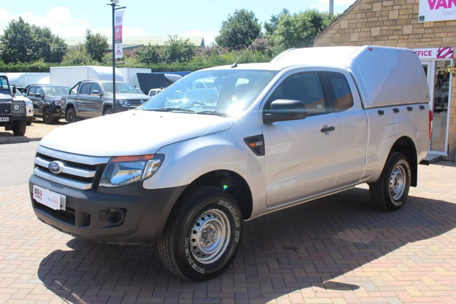 FORD RANGER XL 4X4 TDCI 150 SUPER CAB WITH TRUCKMAN TOP - 6276 - 8