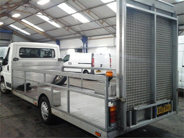 CITROEN RELAY 35 HDI 120 L3 PLATFORM CAB WITH REAR LOADING RAMP - 7292 - 3
