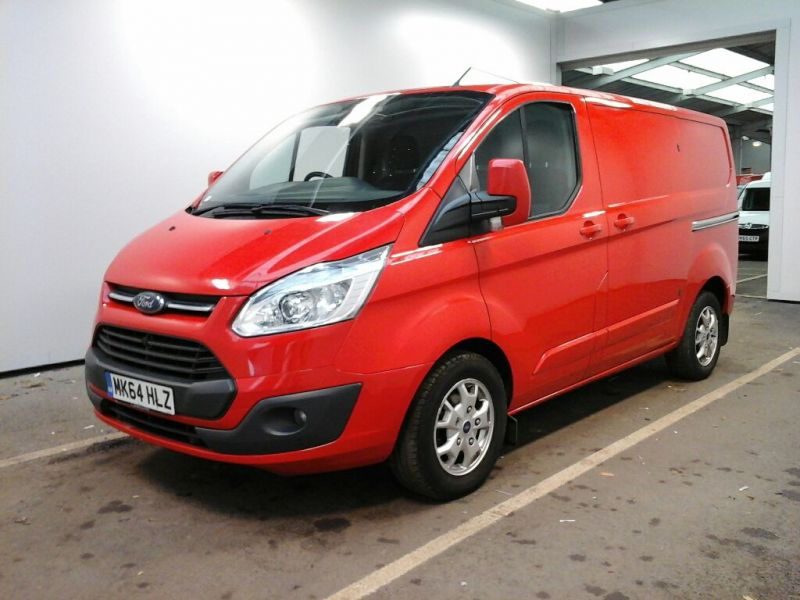 FORD TRANSIT CUSTOM 290 TDCI 125 L1 H1 LIMITED SWB LOW ROOF FWD - 8945 - 1
