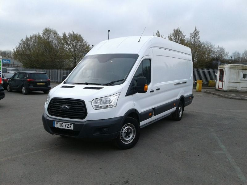 FORD TRANSIT 350 TDCI 155 L4 H3 JUMBO HIGH ROOF RWD - 9316 - 1