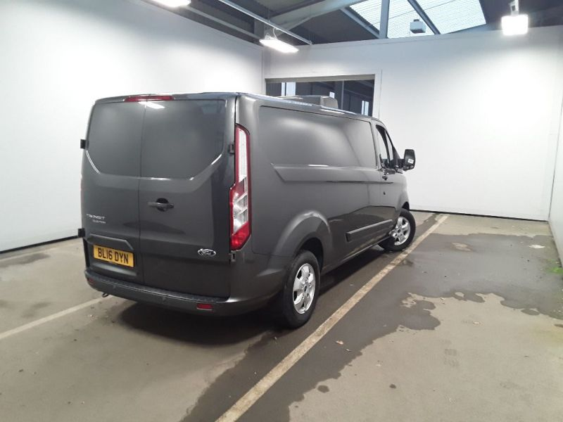 FORD TRANSIT CUSTOM 290 TDCI 125 L2H1 LIMITED FRIDGE VAN LWB LOW ROOF FWD - 11765 - 3