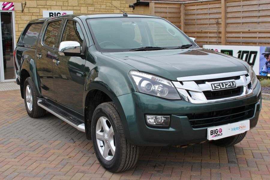 ISUZU D-MAX TD 163 YUKON VISION DOUBLE CAB WITH TRUCKMAN TOP - 9450 - 3
