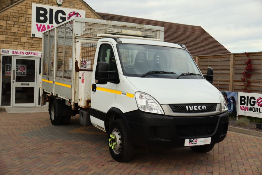 IVECO DAILY 70C18 3450 WB SINGLE CAB ALLOY CAGED TIPPER WITH TAIL LIFT - 9614 - 5