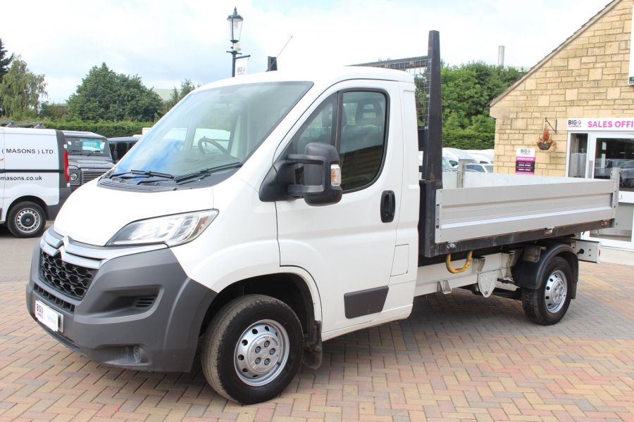 CITROEN RELAY 35 HDI 130 MWB L2 SINGLE CAB ALLOY TIPPER - 6202 - 16