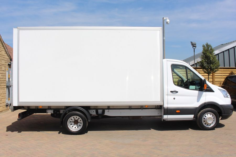 FORD TRANSIT 350 TDCI 125 L4 DRW 'ONE STOP' HIGH CAPACITY LUTON BOX WITH TAIL LIFT - 6135 - 3