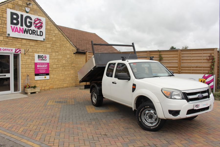 FORD RANGER XL 4X4 TDCI SUPER CAB ALLOY TIPPER - 6057 - 2