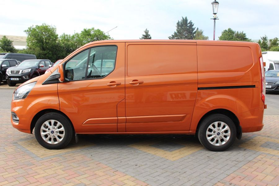 FORD TRANSIT CUSTOM 280 TDCI 130 L1 H1 LIMITED SWB LOW ROOF FWD - 9411 - 8