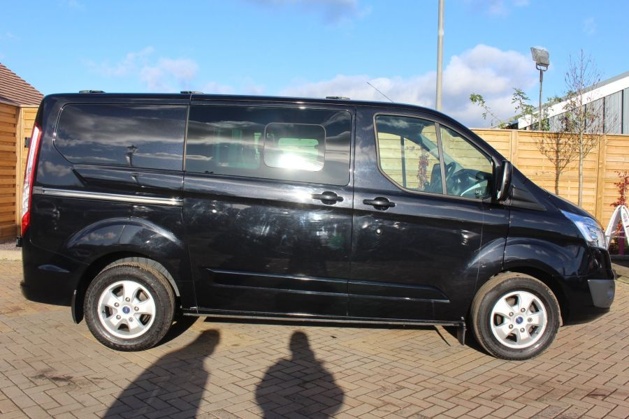 FORD TRANSIT CUSTOM 290 TDCI 155 L1 H1 LIMITED DOUBLE CAB 6 SEAT CREW VAN SWB LOW ROOF FWD - 7026 - 4