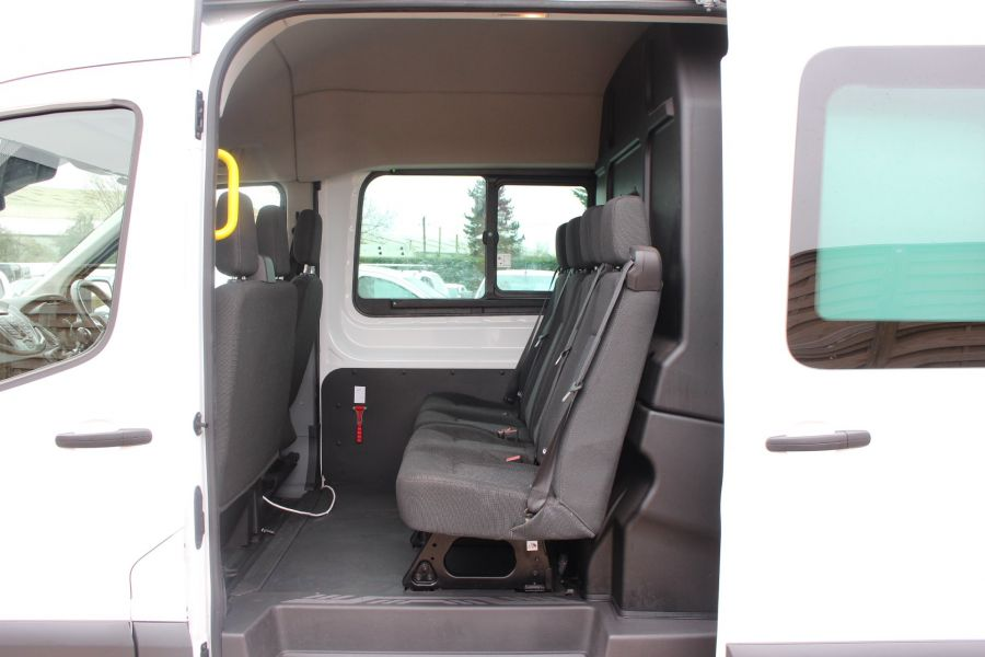 FORD TRANSIT 350 TDCI 155 L4 H3 TREND DOUBLE CAB 7 SEAT CREW VAN JUMBO HIGH ROOF  - 7472 - 19