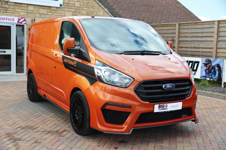 FORD TRANSIT CUSTOM 280 TDCI 130 L1H1 MOTION R LIMITED - 10195 - 4