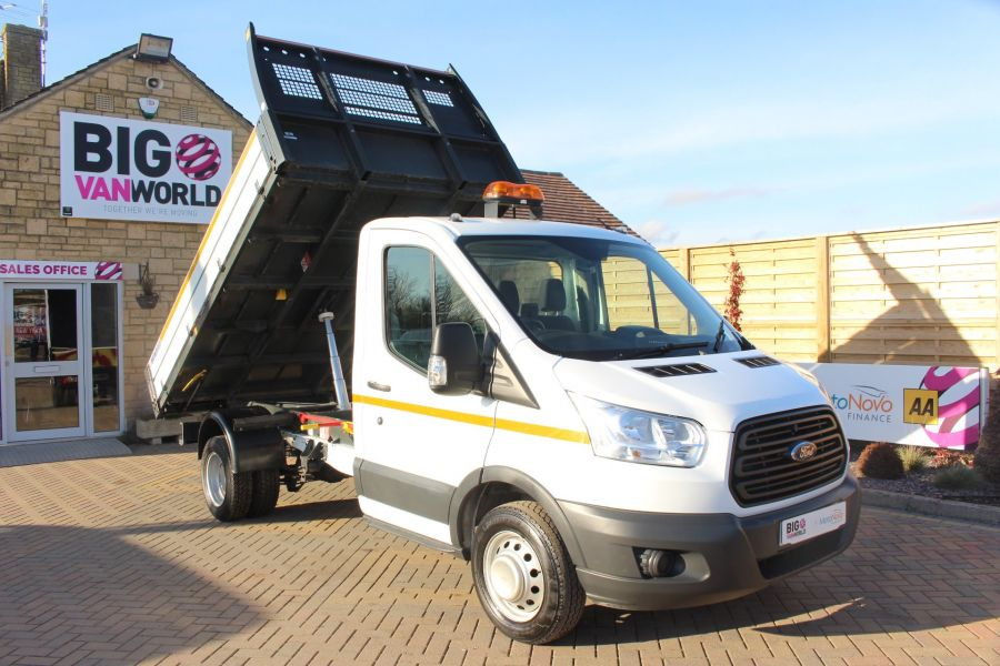 FORD TRANSIT 350 TDCI 125 SINGLE CAB 'ONE STOP' ALLOY TIPPER DRW - 7213 - 3