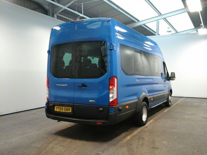 FORD TRANSIT 460 TDCI 125 L4 H3 TREND 17 SEAT BUS HIGH ROOF DRW RWD - 8680 - 2
