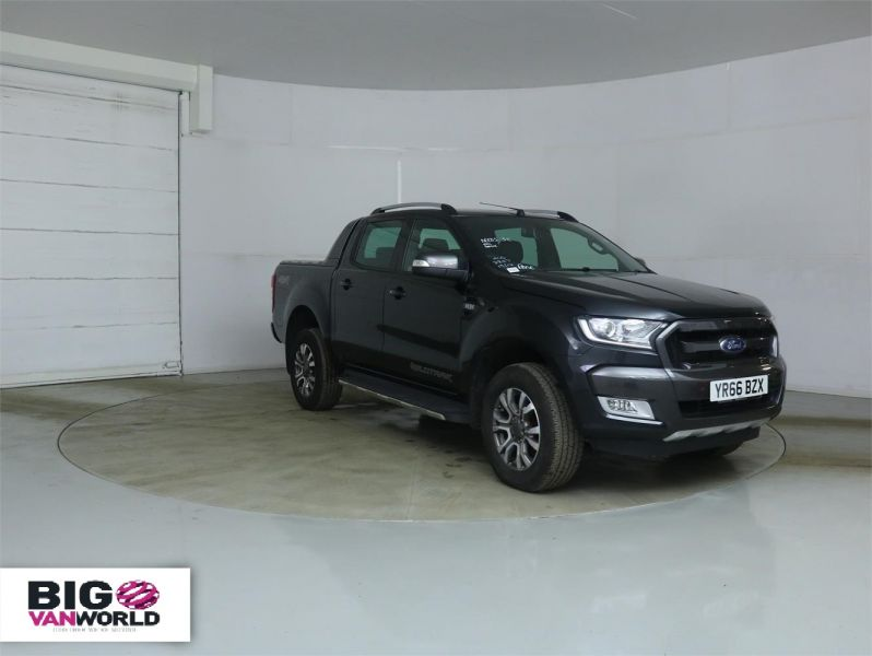 FORD RANGER WILDTRAK TDCI 200 4X4 DOUBLE CAB WITH ROLL'N'LOCK TOP - 8951 - 1