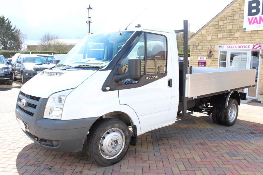 FORD TRANSIT 350 TDCI 100 MWB SINGLE CAB ALLOY TIPPER - 7589 - 15