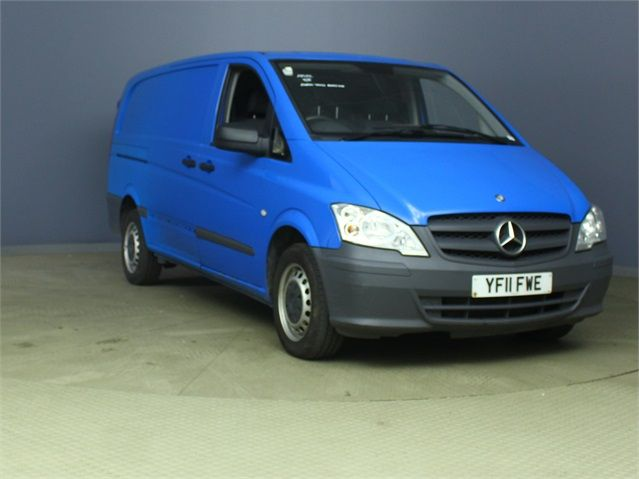 MERCEDES VITO 116 CDI 163 LWB LOW ROOF - 6623 - 1