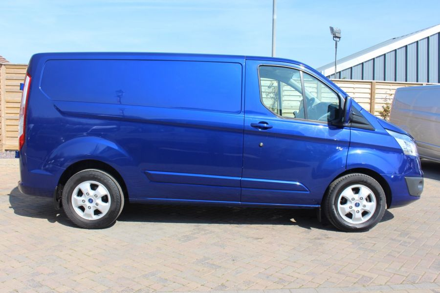 FORD TRANSIT CUSTOM 270 TDCI 155 L1 H1 LIMITED SWB LOW ROOF FWD - 9029 - 4