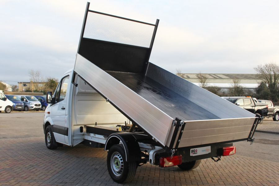 MERCEDES SPRINTER 313 CDI 129 SINGLE CAB NEW BUILD ALLOY TIPPER - 9673 - 6