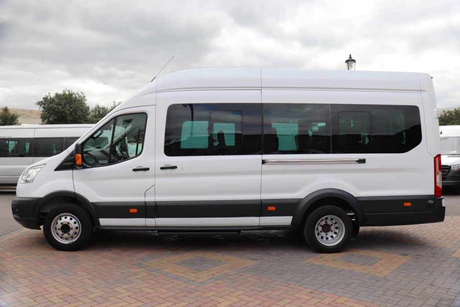 FORD TRANSIT 460 TDCI 155 L4H3 TREND 17 SEAT BUS HIGH ROOF DRW RWD - 9767 - 8