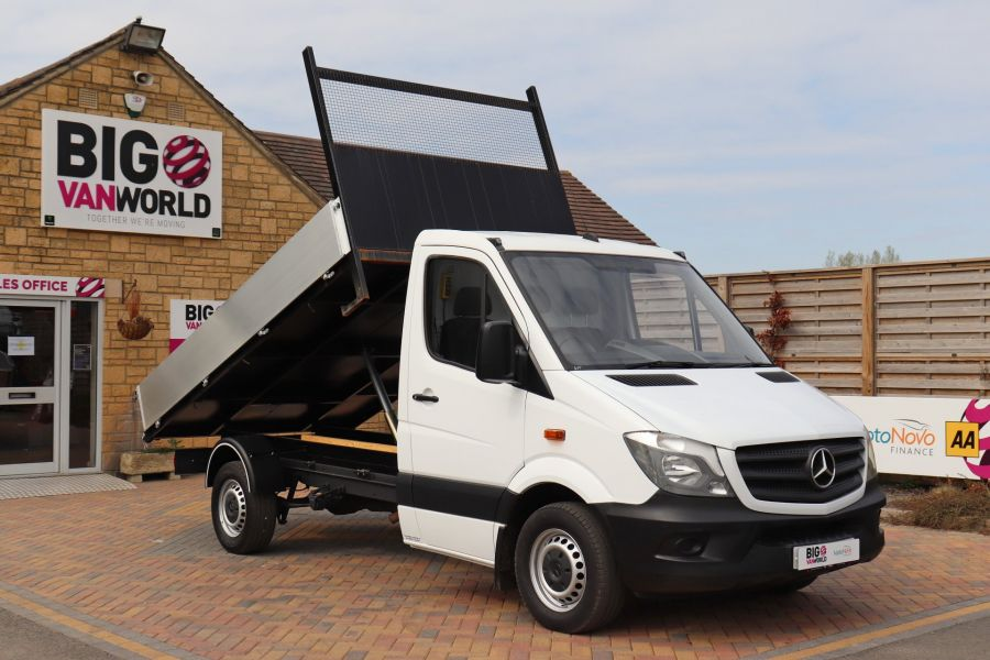 MERCEDES SPRINTER 313 CDI 129 MWB SINGLE CAB NEW BUILD ALLOY TIPPER - 11018 - 15