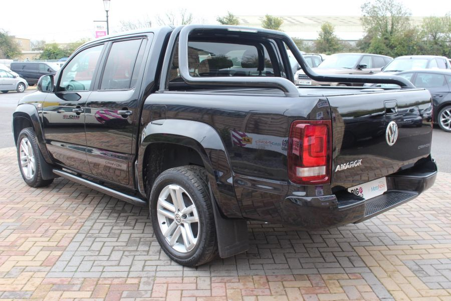 VOLKSWAGEN AMAROK A32 BITDI 180 CANYON 4MOTION SPECIAL EDITION DOUBLE CAB AUTO WITH ROLL'N'LOCK TOP - 6869 - 7