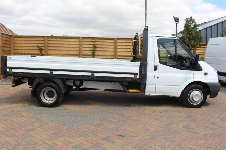 FORD TRANSIT 350 TDCI 155 LWB SINGLE CAB 'ONE STOP' 12FT 6IN ALLOY DROPSIDE RWD - 6220 - 4