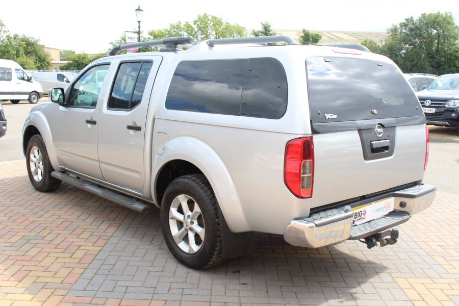 NISSAN NAVARA DCI 190 TEKNA CONNECT 4X4 DOUBLE CAB AUTO WITH TRUCKMAN TOP - 5975 - 7