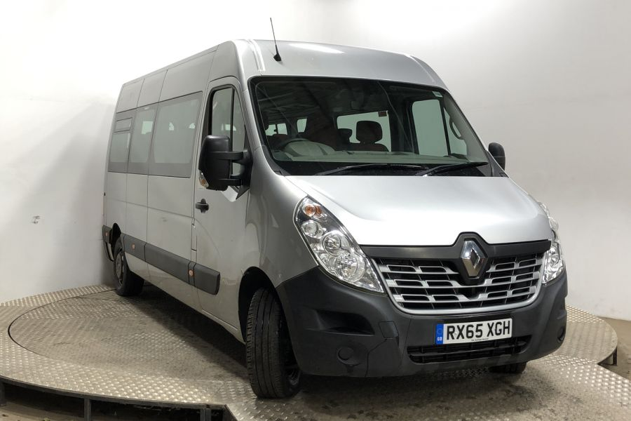 RENAULT MASTER LM39 DCI 150 BUSINESS LWB 17 SEAT BUS MEDIUM ROOF - 12070 - 1
