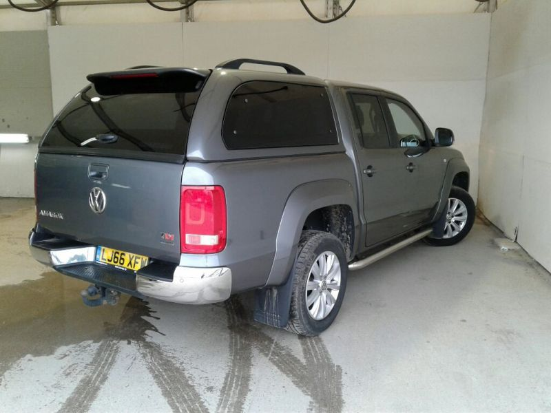VOLKSWAGEN AMAROK DC BITDI 180 HIGHLINE 4MOTION BMT DOUBLE CAB WITH TRUCKMAN TOP - 9819 - 3