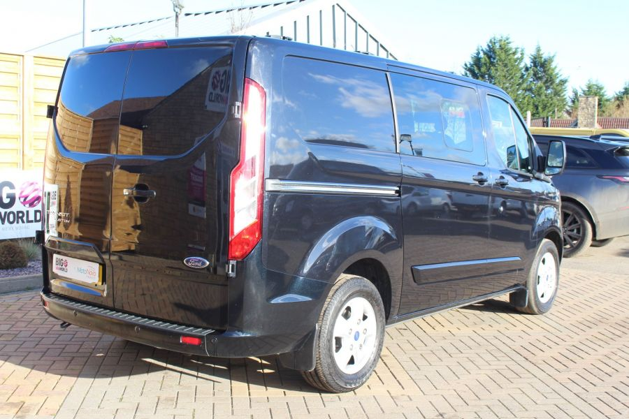 FORD TRANSIT CUSTOM 290 TDCI 155 L1 H1 LIMITED DOUBLE CAB 6 SEAT CREW VAN SWB LOW ROOF FWD - 7026 - 5