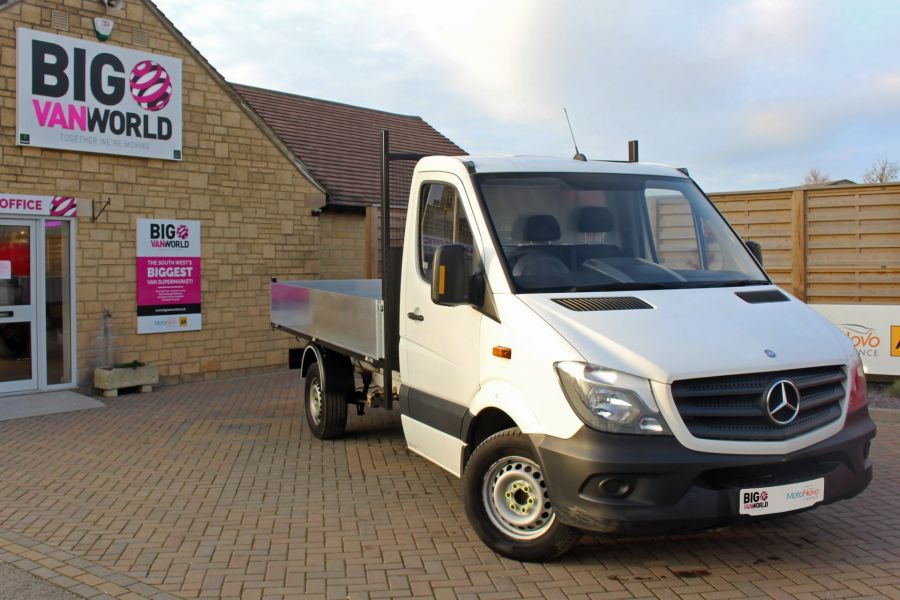 MERCEDES SPRINTER 313 CDI 129 MWB SINGLE CAB NEW BUILD ALLOY TIPPER - 9683 - 2