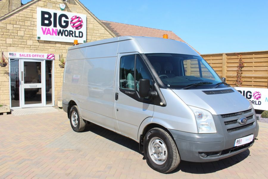 FORD TRANSIT 350 TDCI 100 MWB HIGH ROOF RWD - 6671 - 2