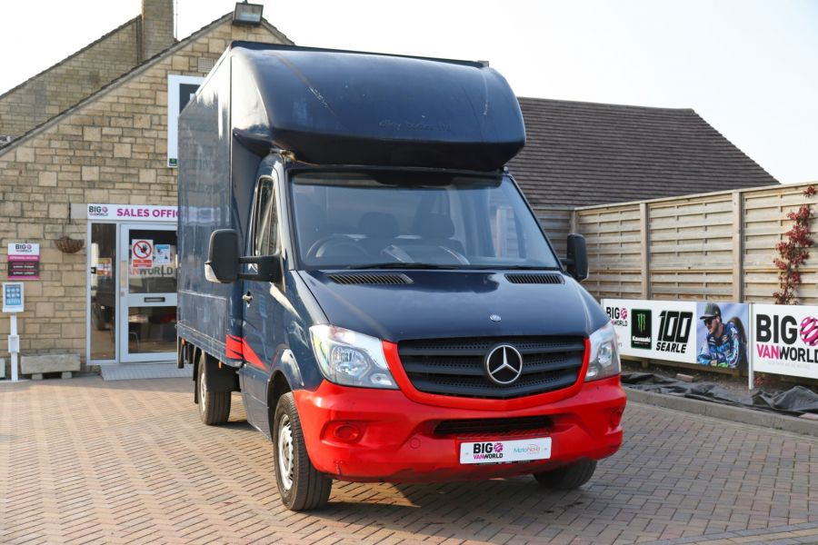 MERCEDES SPRINTER 313 CDI 129 MWB LUTON WITH TAIL LIFT - 12154 - 6