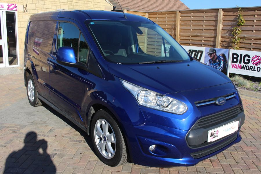 FORD TRANSIT CONNECT 200 TDCI 125 L1 H1 LIMITED SWB LOW ROOF - 8327 - 1