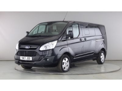 FORD TRANSIT CUSTOM 310 TDCI 130 L2H1 LIMITED DOUBLE CAB 6 SEAT CREW VAN LWB LOW ROOF - 11097 - 8