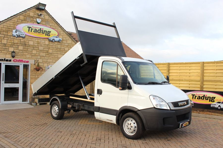 IVECO DAILY 35S11 MWB SINGLE CAB 11FT 6IN ALLOY TIPPER - 5178 - 1