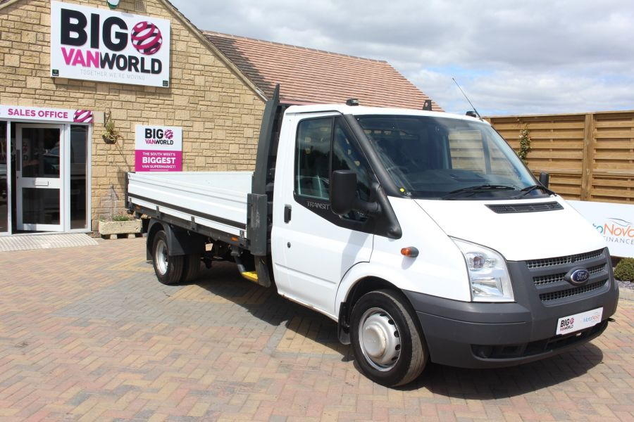FORD TRANSIT 350 TDCI 155 LWB SINGLE CAB 'ONE STOP' 12FT 6IN ALLOY DROPSIDE RWD - 6220 - 2