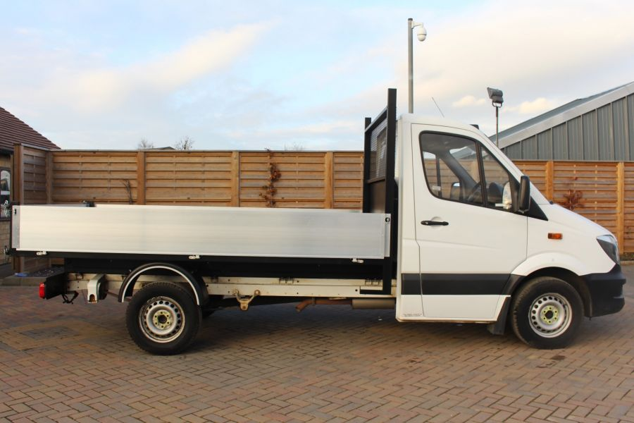 MERCEDES SPRINTER 313 CDI 129 SINGLE CAB NEW BUILD ALLOY TIPPER - 9673 - 11