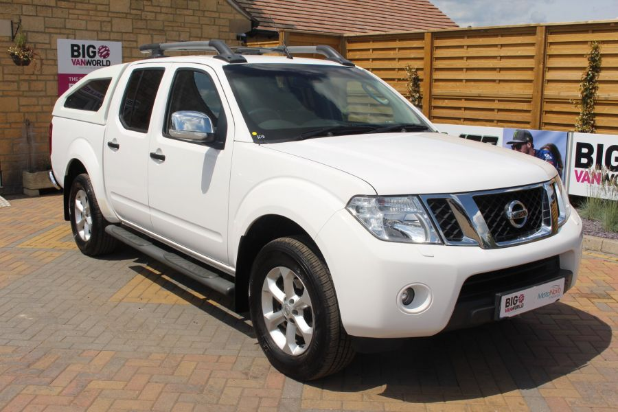 NISSAN NAVARA DCI 190 TEKNA CONNECT 4X4 DOUBLE CAB WITH SPORT TRUCKMAN TOP - 6295 - 3