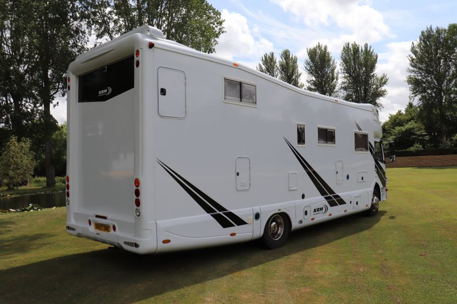 MERCEDES KRM MB1628 32FT 6 BERTH MOTORHOME / SPORTHOME  - 9783 - 5