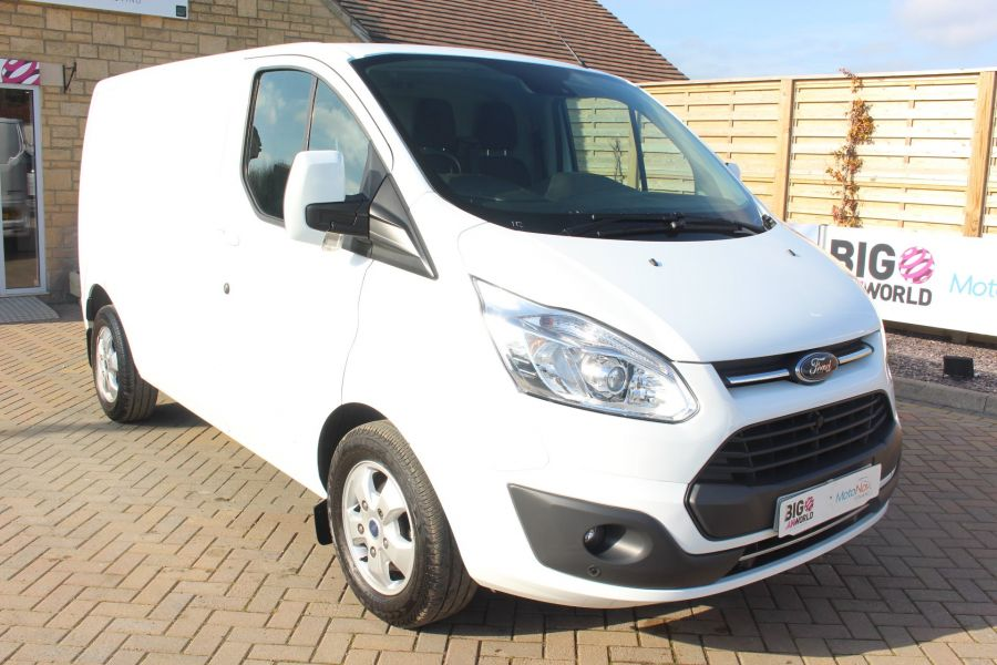 FORD TRANSIT CUSTOM 290 TDCI 170 L1 H1 LIMITED SWB LOW ROOF - 8843 - 1