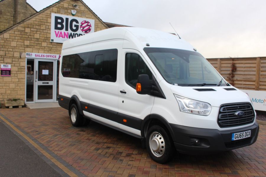 FORD TRANSIT 460 TDCI 125 TREND L4 H3 HIGH ROOF 17 SEAT BUS - 8551 - 3
