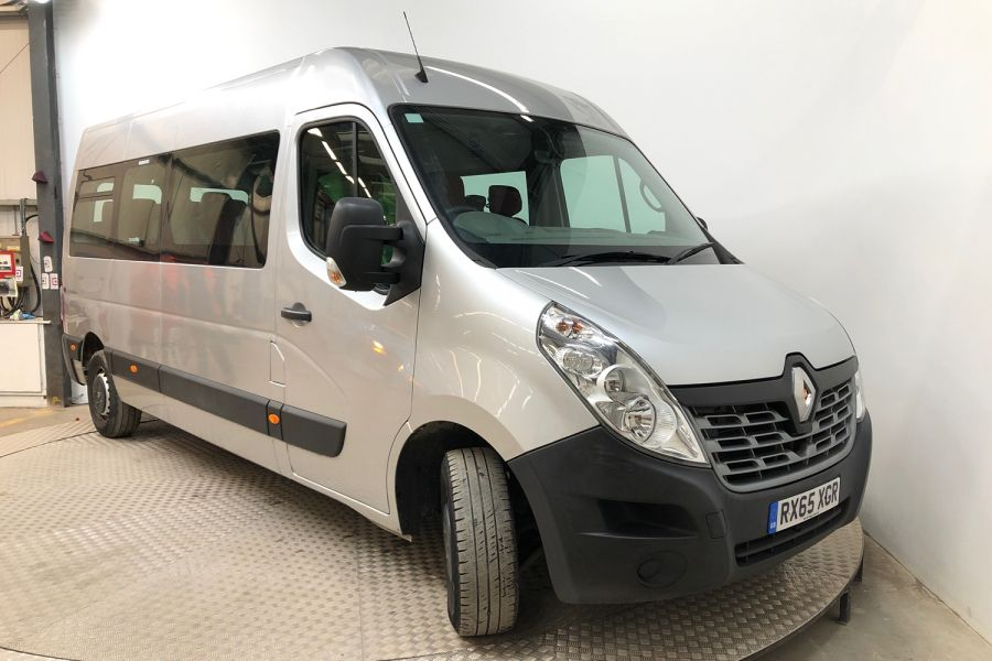 RENAULT MASTER LM39 DCI 150 BUSINESS LWB 17 SEAT BUS MEDIUM ROOF WITH OVERHEAD STORAGE  (13987) - 12235 - 1