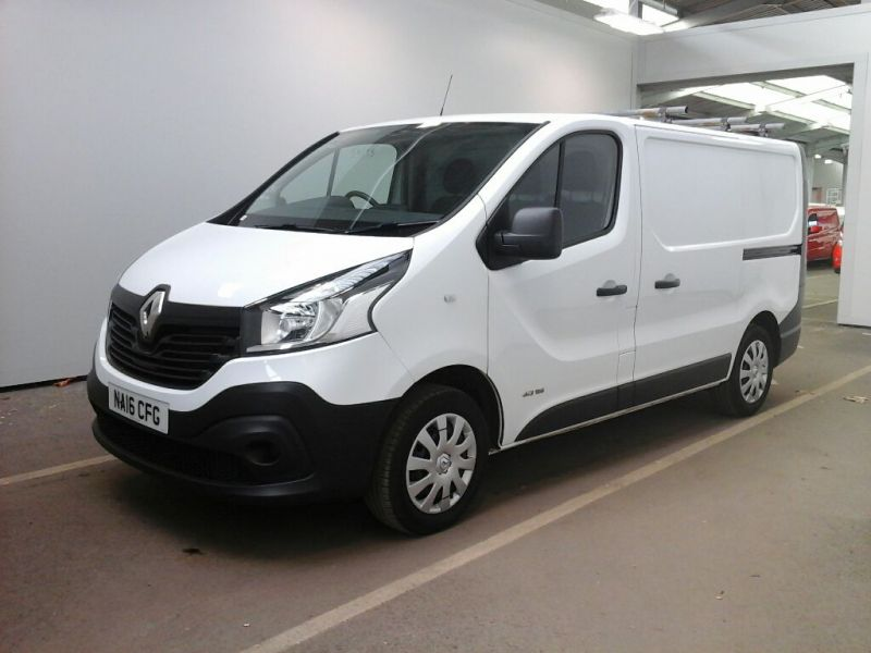 RENAULT TRAFIC SL27 DCI 115 BUSINESS SWB LOW ROOF - 9738 - 1