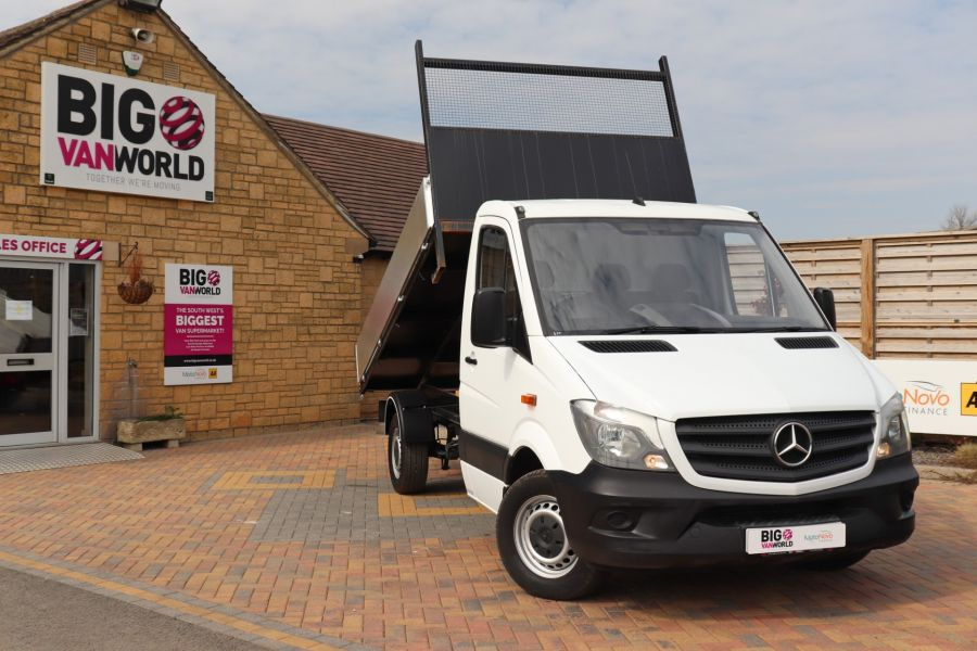 MERCEDES SPRINTER 313 CDI 129 MWB SINGLE CAB NEW BUILD ALLOY TIPPER - 10630 - 1