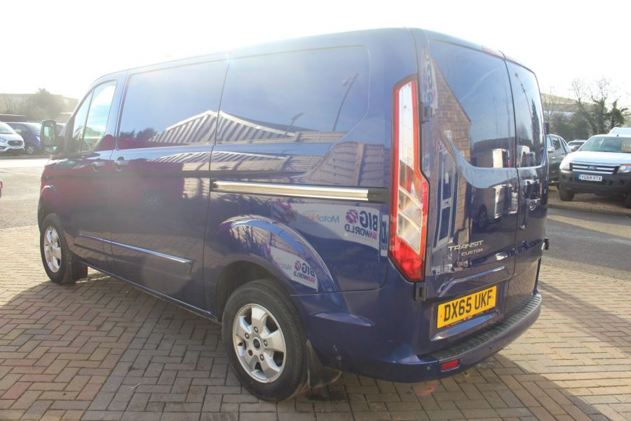 FORD TRANSIT CUSTOM 290 TDCI 155 L1 H1 LIMITED SWB LOW ROOF - 8952 - 7