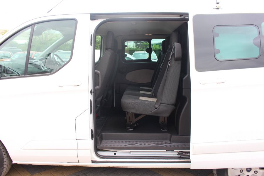 FORD TRANSIT CUSTOM 310 TDCI 170 L1 H1 LIMITED DOUBLE CAB 5 SEAT CREW VAN SWB LOW ROOF - 9234 - 23