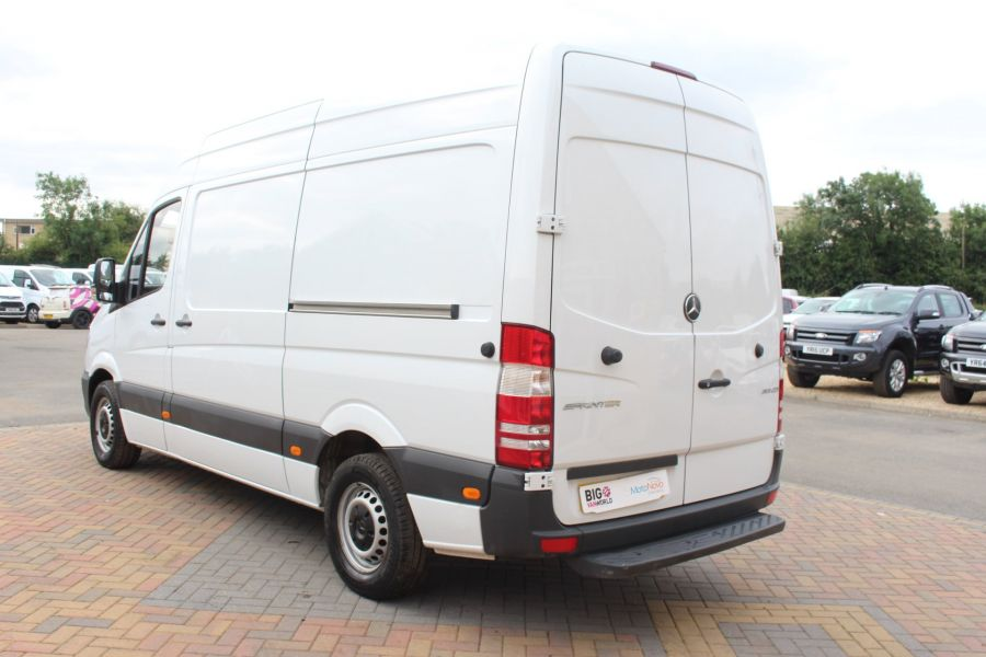 MERCEDES SPRINTER 313 CDI MWB HIGH ROOF 6 SEAT CREW VAN - 6303 - 7