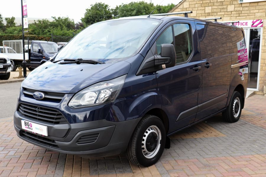 FORD TRANSIT CUSTOM 270 TDCI 100 ECO-TECH SWB LOW ROOF - 9707 - 9